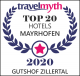 Gutshof Zillertal is among the 20 top hotels in Mayrhofen (badge)